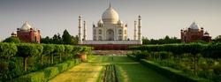Taj Mahal from the garden side, sunset