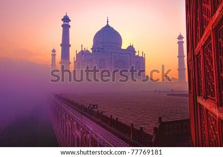 Taj Mahal in India, Agra
