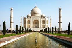 Taj Mahal in India, Agra, Uttar Pradesh