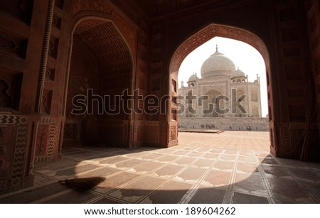 Taj Mahal The 7 Wonders of the World Agra India