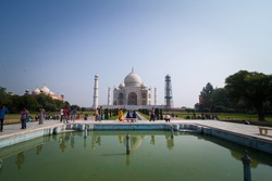 Taj Mahal tomb of shajahan and mumtaz love