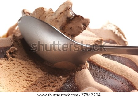 Take a chocolate ice cream