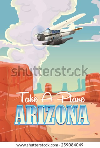 take a plane to arizona travel...