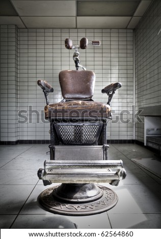 Take a seat... An old anxious dentist chair at an abandoned hospital, waiting for the next victim...