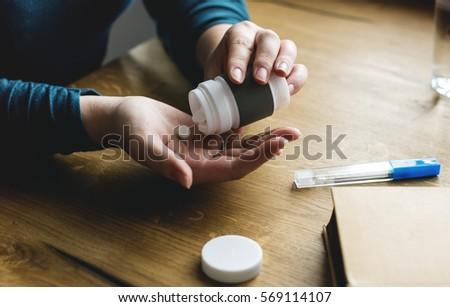 Take Medicine Pills Fever Tablets