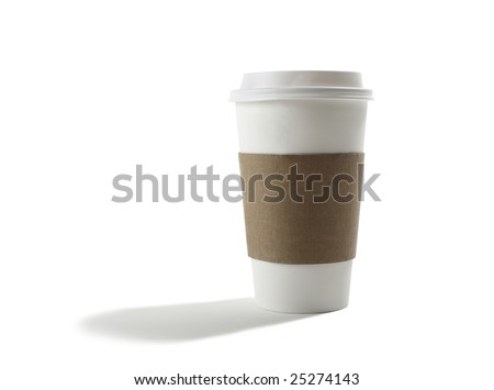 Take out Coffee Cup