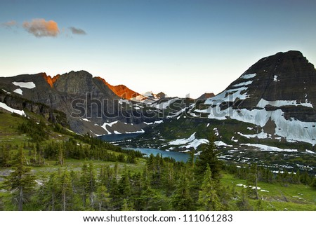 taken in Logan Pass - Hidden Lake Trail, Glacier National Park