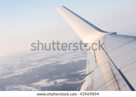 Taking off