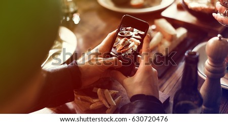 Taking Photo of Food by Phone