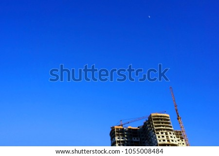 tall apartment buildings under...
