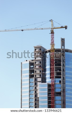 tall building under construction