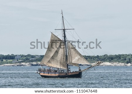 Tall Ship in Newport, RI