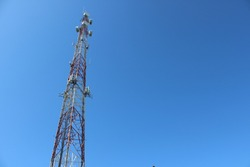 Tall tower for broadcasting radio and news
