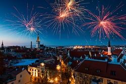 Tallinn new year, Estonia
