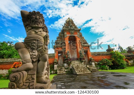 Taman Ayun Temple is a royal temple of Mengwi Empire located in Mengwi Badung regency that is famous places of interest in Bali