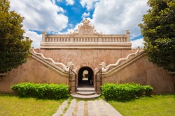 Taman Sari Water Castle is a site of a former royal garden of the Sultanate of Yogyakarta