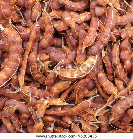 tamarind fruit background