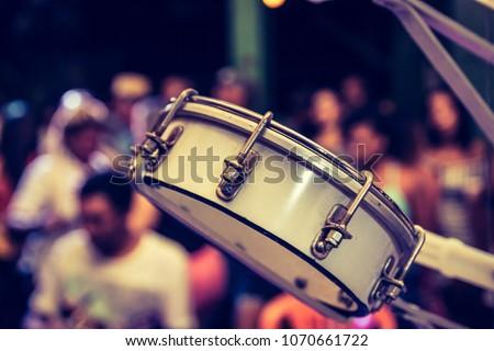 Tambourine samba instrument