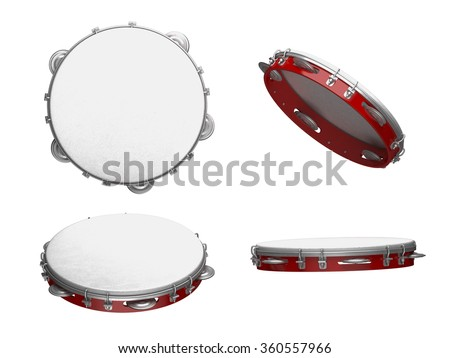 Tambourine with nobody holding Stock photo ©