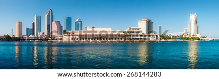 Tampa Skyline Foto stock ©