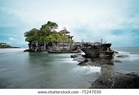 Tanah Lot Temple - Long exposure