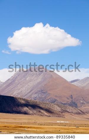 Tanggula Mountain Ranges in Tibet