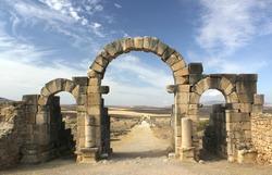 Tangier Gate at Volubilis