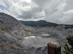 Tangkuban Prahu Mountain Bandung City