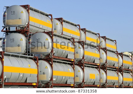 tank container for transport