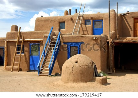 Taos Pueblo - stock photo