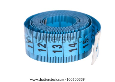 tapemeasure isolated on white background