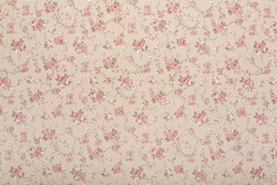Tapestry textile pattern with rose floral, romantic texture background