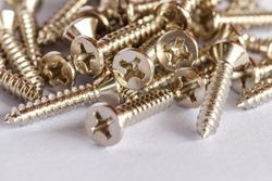 Tapping screws made od steel, metal screw, iron screw.
