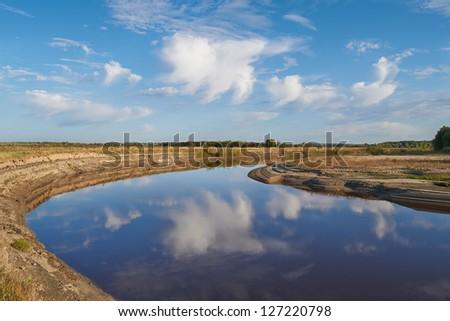 Tara River, Western Siberia