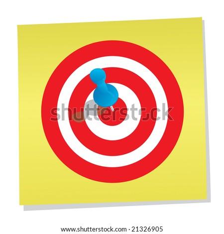Target (3d render)