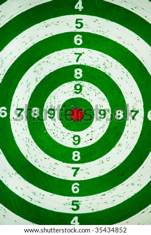 Target dartboard no hit