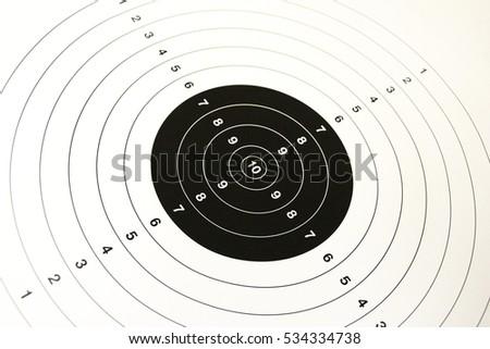 Target, shooting target #534334738