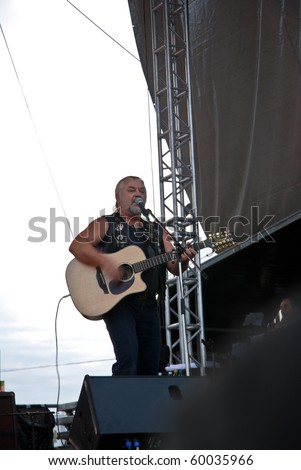 TARGU MURES, ROMANIA - AUG 28 : Phoenix perform at Peninsula Festival August 28, 2010 in Targu Mures.