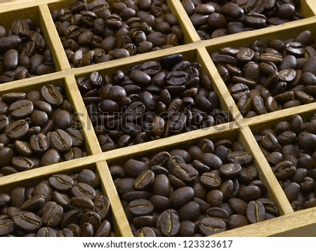 tasting coffee. Arabica Coffee, Brazilian Coffee, Coffee Kenya, Colombian Coffee, roasted coffee, Costa Rica Coffee, Ethiopian coffee, Coffee of Jamaica, Indonesian Coffee,