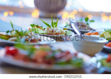 tasty appetizer #190212551