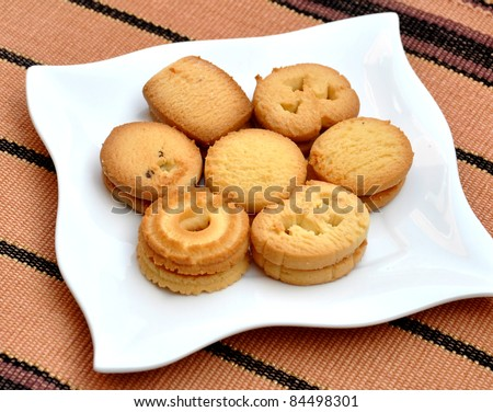 Tasty Butter Cookies