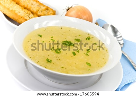 tasty chicken soup