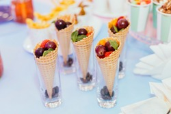 tasty childlike sweet dessert  dessert holiday party
