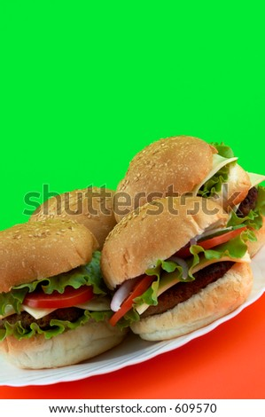 tasty hamburgers