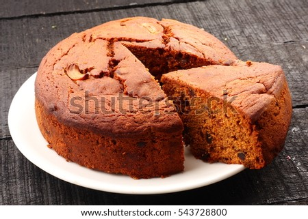 Shutterstock Tasty homemade traditional fruit cake,
