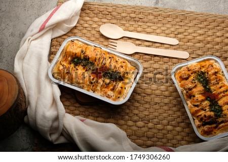 Tasty Mentai with Salmon Egg Photo stock ©