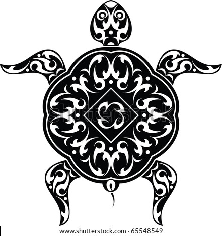 stock photo : Tattoo Turtle