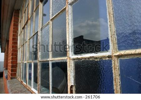 Tatty old window in need of repair