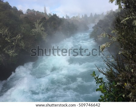 Taupo Huka Fall  #509746642