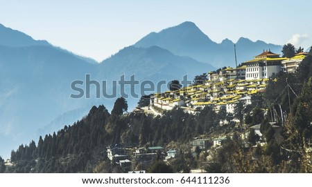 tawang monastery   located in...